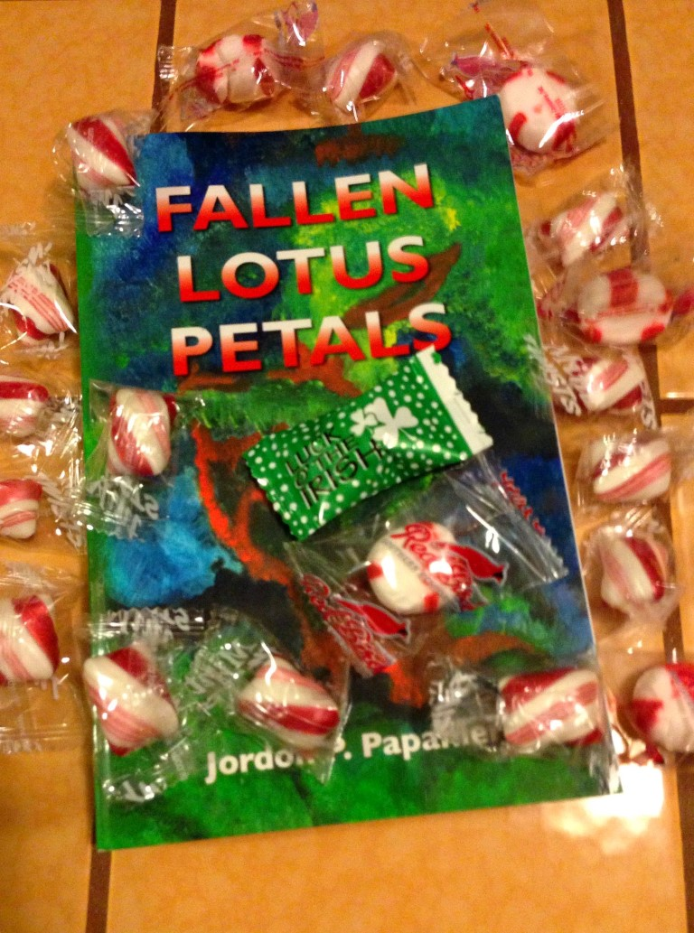 Satisfy your reading sweet tooth with book Fallen Lotus Petals